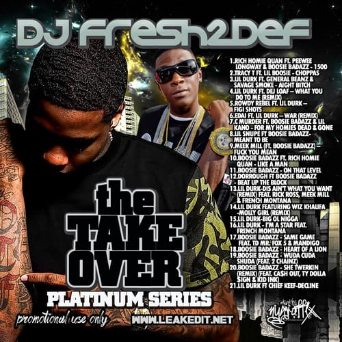 DJ FRESH2DEF - THE TAKEOVER PLATINUM SERIES-FRONT-COVER